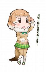 Black-tailed Prairie Dog (Kemono Friends)