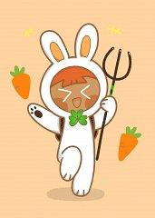 Carrot Cookie (Bouncy Bunny)