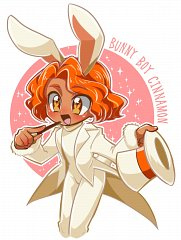 Cinnamon Cookie (Bunny Boy)