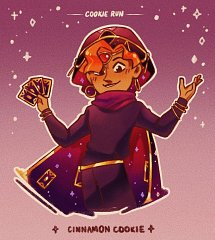 Cinnamon Cookie (Fortuneteller Apprentice)