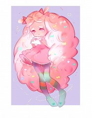Cotton Candy Cookie