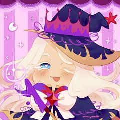 Cream Puff Cookie (Dark Magic Hat)