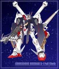 Crossbone Gundam X-1 Full Cloth