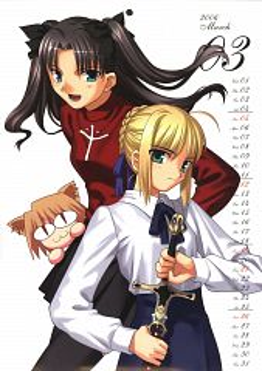 Fate/moemoe Calendar 2006