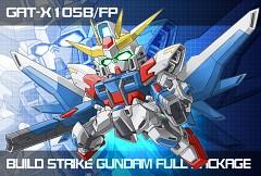 GAT-X105B/FP Build Strike Gundam Full Package