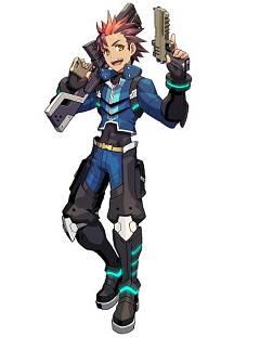 Zeno (azure Striker Gunvolt)