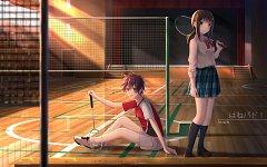The Badminton Play Of Ayano Hanesaki!