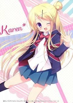 Kujou Karen (Kiniro Mosaic)
