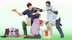 Kuroko no Basuke - End Cards