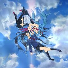 Monochrome Blue Sky