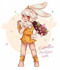 Moon Rabbit Cookie (Mighty Club)