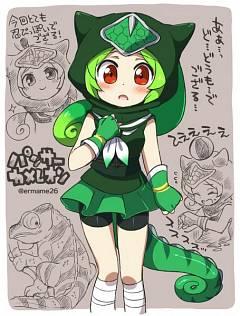 Panther Chameleon (Kemono Friends)