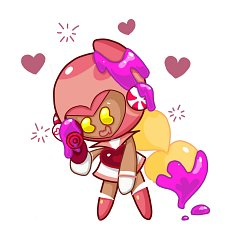 Pink Choco Cookie (Jelly Walker)