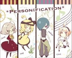 personification for a clock