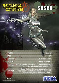 Sasha (Anarchy Reigns)