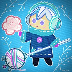 Snow Sugar Cookie (Frozen Yarn)
