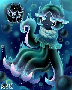 Squid Ink Cookie