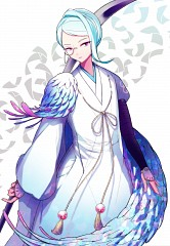 Tomoegata Naginata