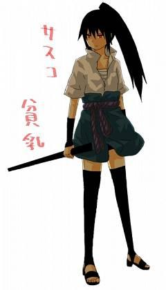 Uchiha Sasuke (Female)