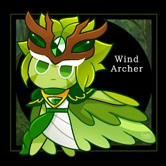 Wind Archer Cookie (Guardian Of The Millennial Tree)