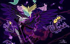 Wind Archer Cookie (Night Raven)