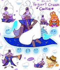 Yogurt Cream Cookie