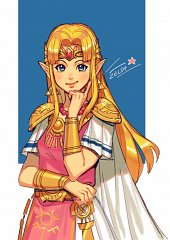 Zelda (Kamigami no Triforce)