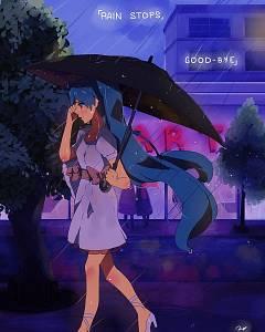 rain stops good-bye